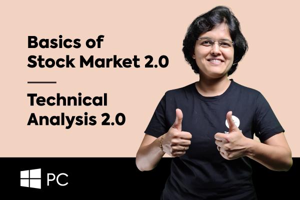 Basics Of Stock Market + Technical Analysis (For Windows PCs) cover