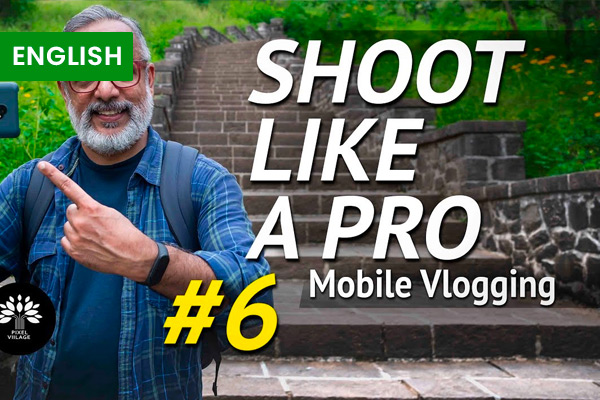 How to Vlog with a Mobile Phone cover