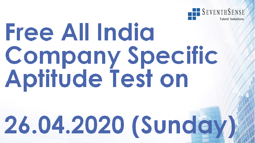 All India Topic Specific Test of 26.04.2020 cover