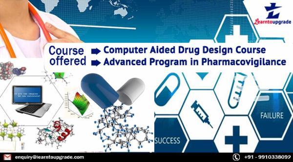 Drug design Drug Discovery + Advance Pharmacovigilance cover