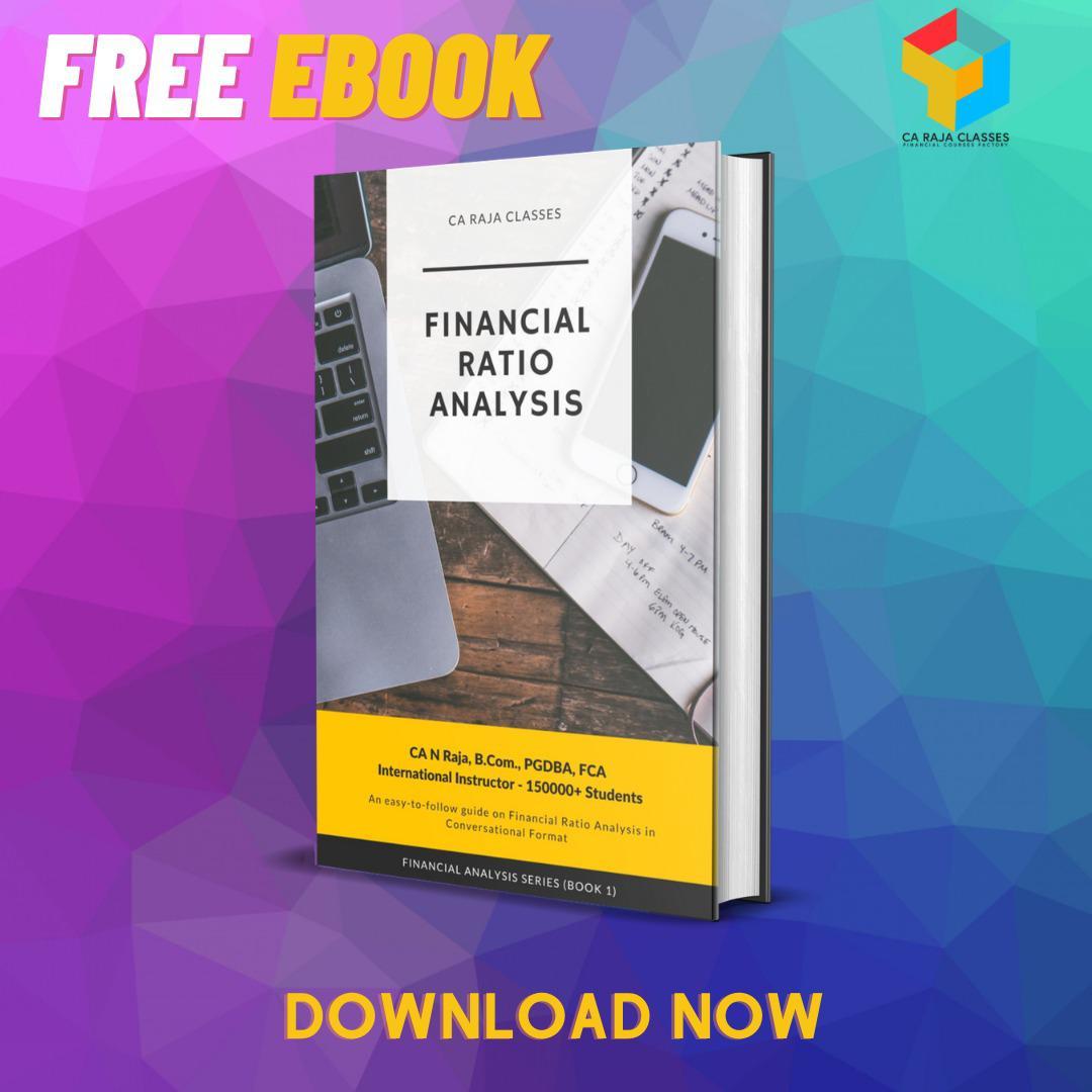 E-BOOK on Financial Ratio Analysis cover
