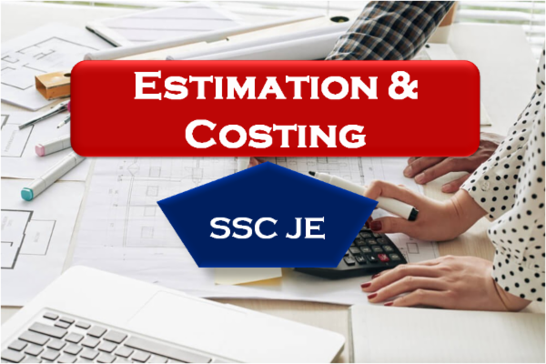 Estimation & Costing (SSC JE) cover