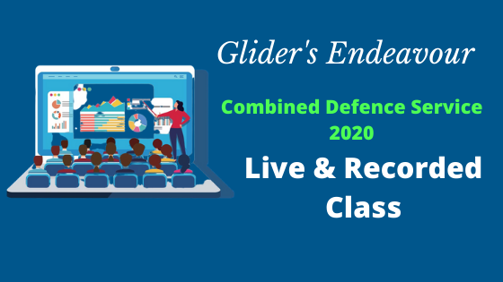 Combined Defence Service Exam   Live & Recorded Class cover