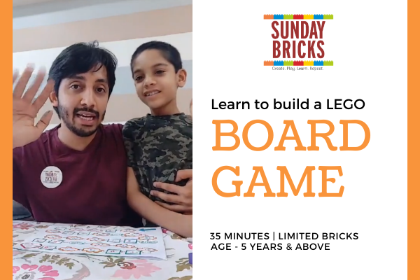 Build a LEGO Board Game cover