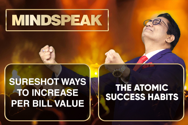 How to Increase Per Bill Value | The Atomic success habits cover