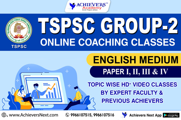 TSPSC Group 2 Online Coaching in English cover