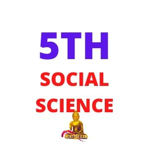 5TH CLASS SOCIAL SCIENCE cover
