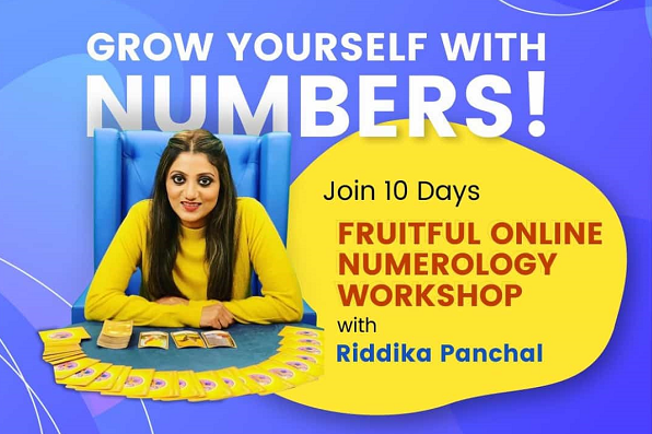 Online Numerology Course cover