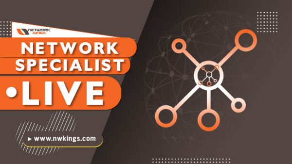 Live Network Specialist with Network Kings cover