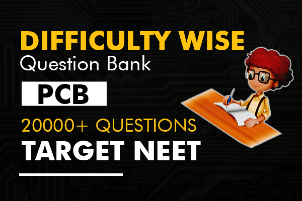 High Yielding Difficulty wise Question Bank - NEET 2020 cover