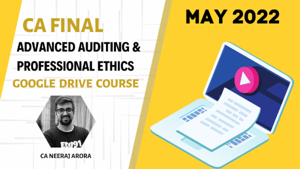 CA Final Advanced Auditing and Professional Ethics - May 2022 - Google Drive - Super 70 cover