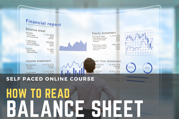How to Read Balance Sheet cover