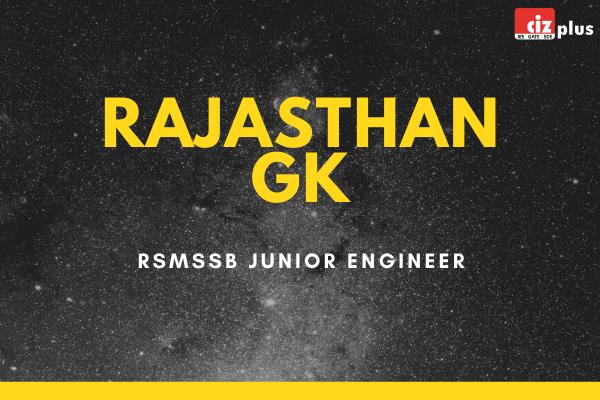 Rajasthan GK for RSMSSB JE cover