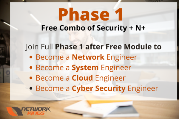 Comptia Security + & Network + cover