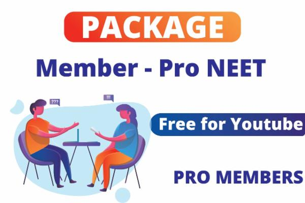 Package for Pro member NEET cover