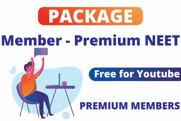 Package for Premium member NEET cover