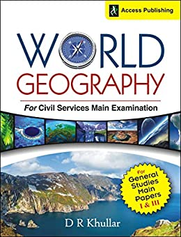 World Geography for Civil Services Main Examination by D.R. Khullar cover