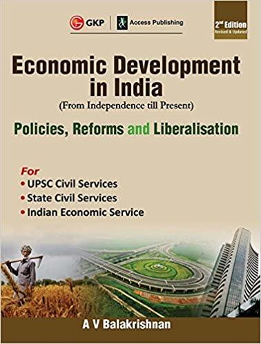 Economic Development in India Second Edition cover