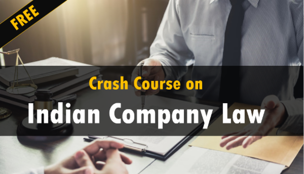 Free Crash Course On Indian Company Law cover