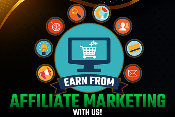 Earn From Affiliate Marketing With Us! cover