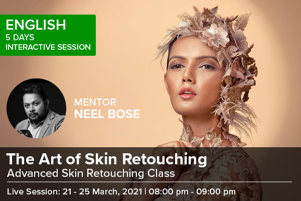 The Art of Skin Retouching cover