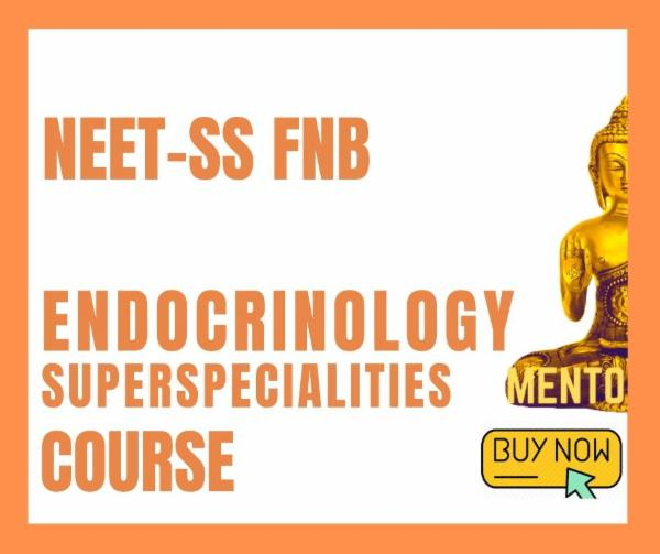 NEET-SS FNB Endocrinology Superspecialities mcq exam course cover