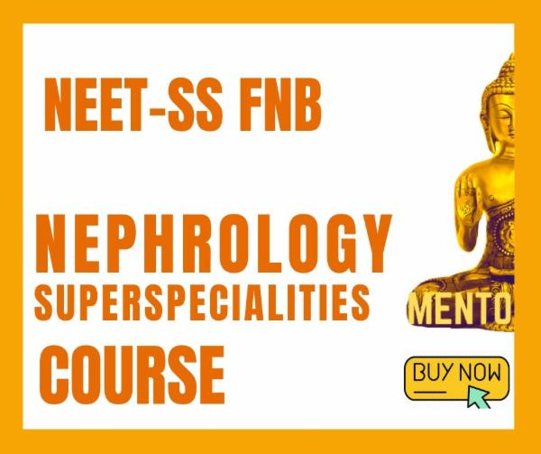 NEET-SS FNB Nephrology Superspecialities mcq exam course cover