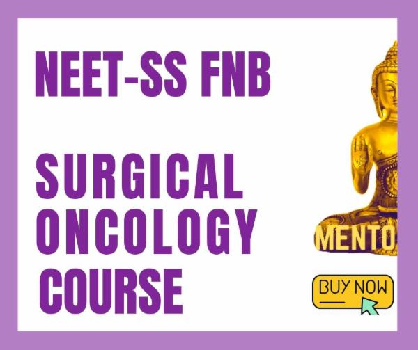NEET-SS FNB Surgical Oncology Superspecialities mcq exam course cover