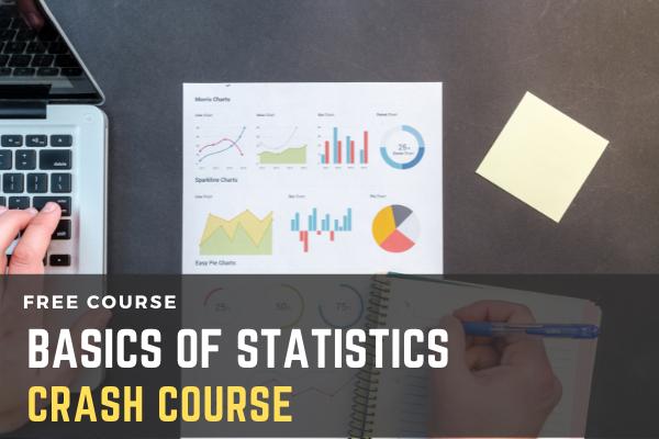 Crash Course on Basics of Statistics cover