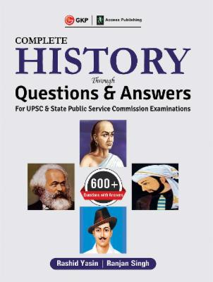 UPSC 2019 - Complete History through Questions & Answers cover