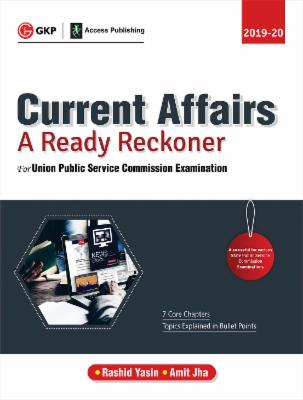 UPSC 2019-20 - Current Affairs - A Ready Reckoner cover