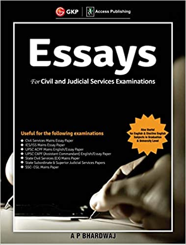 Essays for Civil and Judicial Services Examinations cover