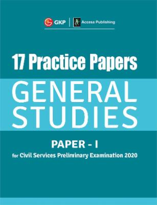 17 Practice Papers General Studies Paper I for Civil Services Preliminary Examination 2020 cover