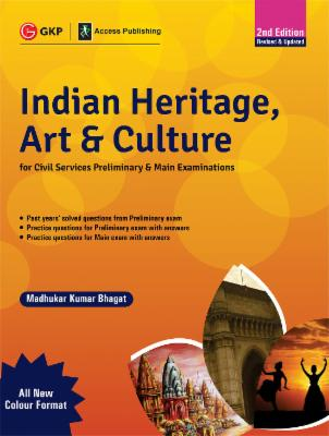 Indian Heritage, Art and Culture (Preliminary & Main) 2ed 2019 cover