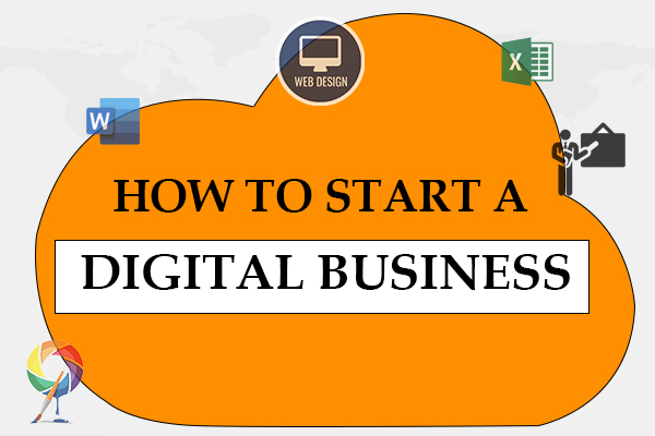 How To Start A Digital Business cover