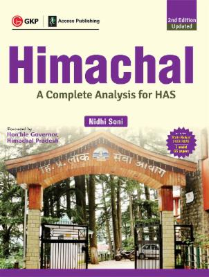 Himachal 2019-20- A Complete Analysis for HAS 2e cover