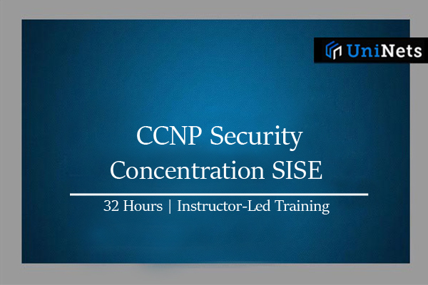 CCNP Security - Concentration SISE-Starts on 26-Dec-2021 cover