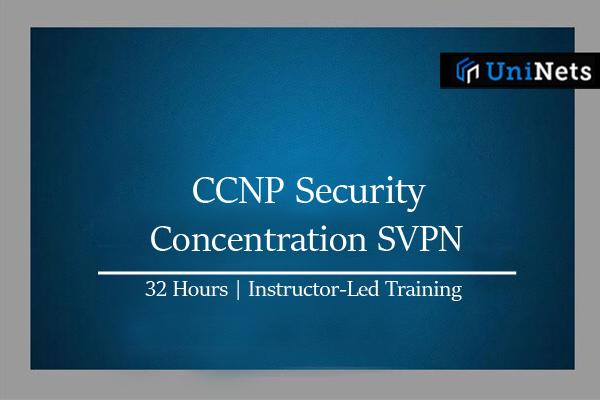 CCNP Security - Concentration SVPN-Starts on 13-Mar-2021 cover