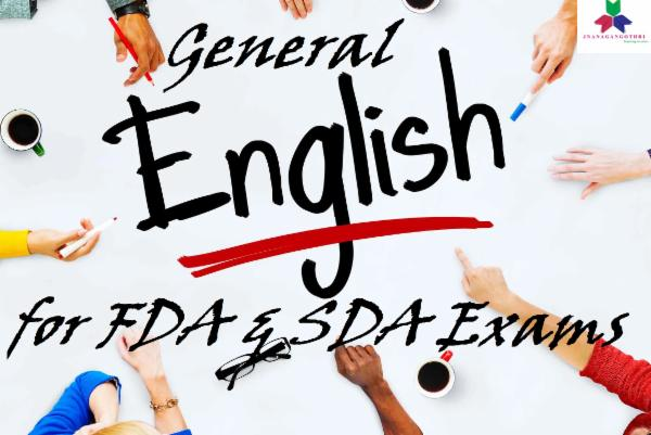 General English for KPSC cover