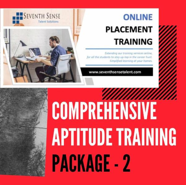 COMPREHENSIVE PLACEMENT TRAINING cover