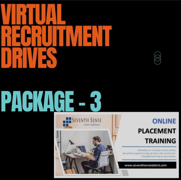VIRTUAL RECRUITMENT DRIVE cover