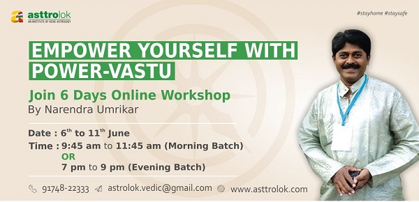 Online Vastu Workshop cover