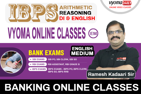 IBPS Banking Online Classes English Medium By BODMAS cover