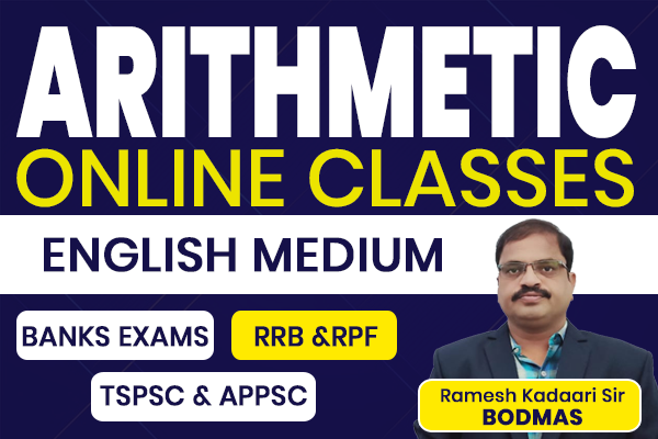 Arithmetic Online Classes | English Medium cover