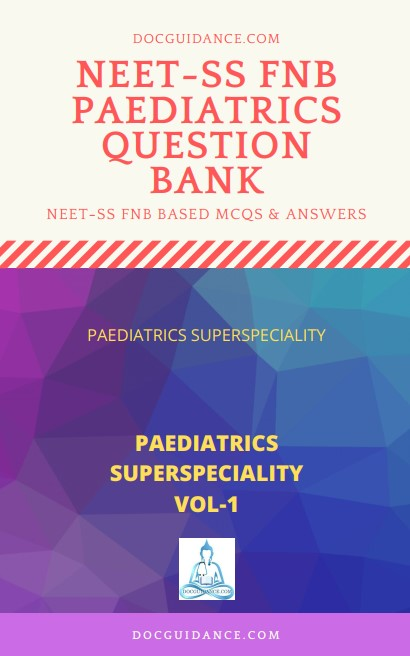Paediatrics NEET-SS Question Bank ebook 1 cover