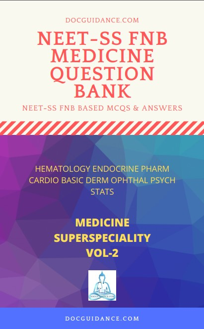 Medicine NEET-SS Question Bank ebook 2 cover