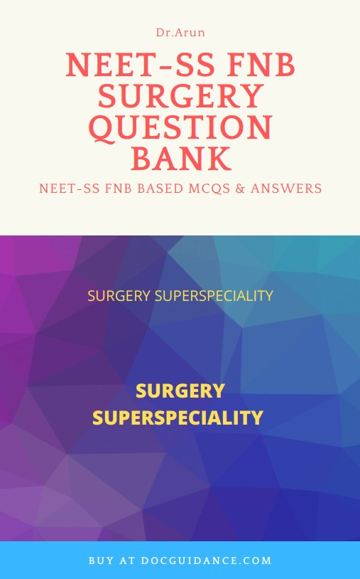 Surgery NEET-SS Question Bank ebook 2019 cover