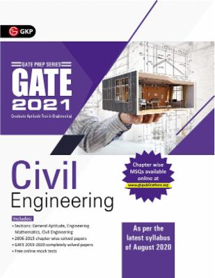 GATE 2021 - Guide - Civil Engineering (New syllabus added) cover