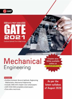 GATE 2021 - Guide - Mechanical Engineering (New syllabus added) cover