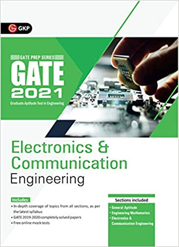 GATE 2021 - Guide - Electronics and Communication Engineering cover